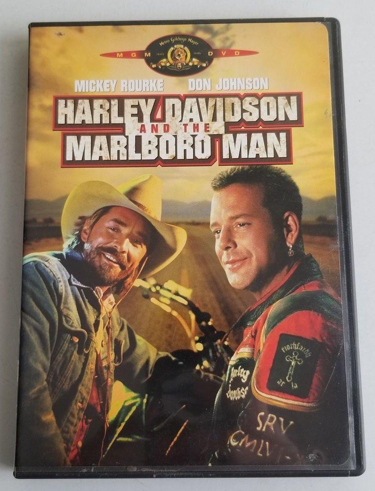 Harley Davidson And The Marlboro Man Dvd 2001 Movie Time