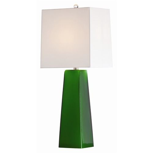 Emerald Green Table Lamp