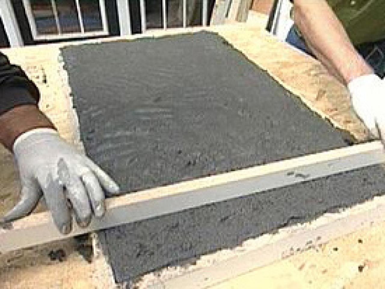 how to make cheap concrete