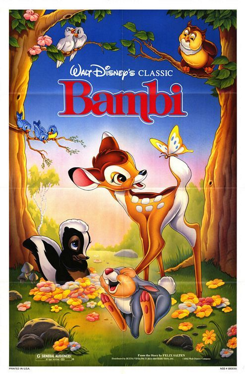 Bambi Movie Poster 4 Walt Disney Movies Disney Movie Posters Disney Movies