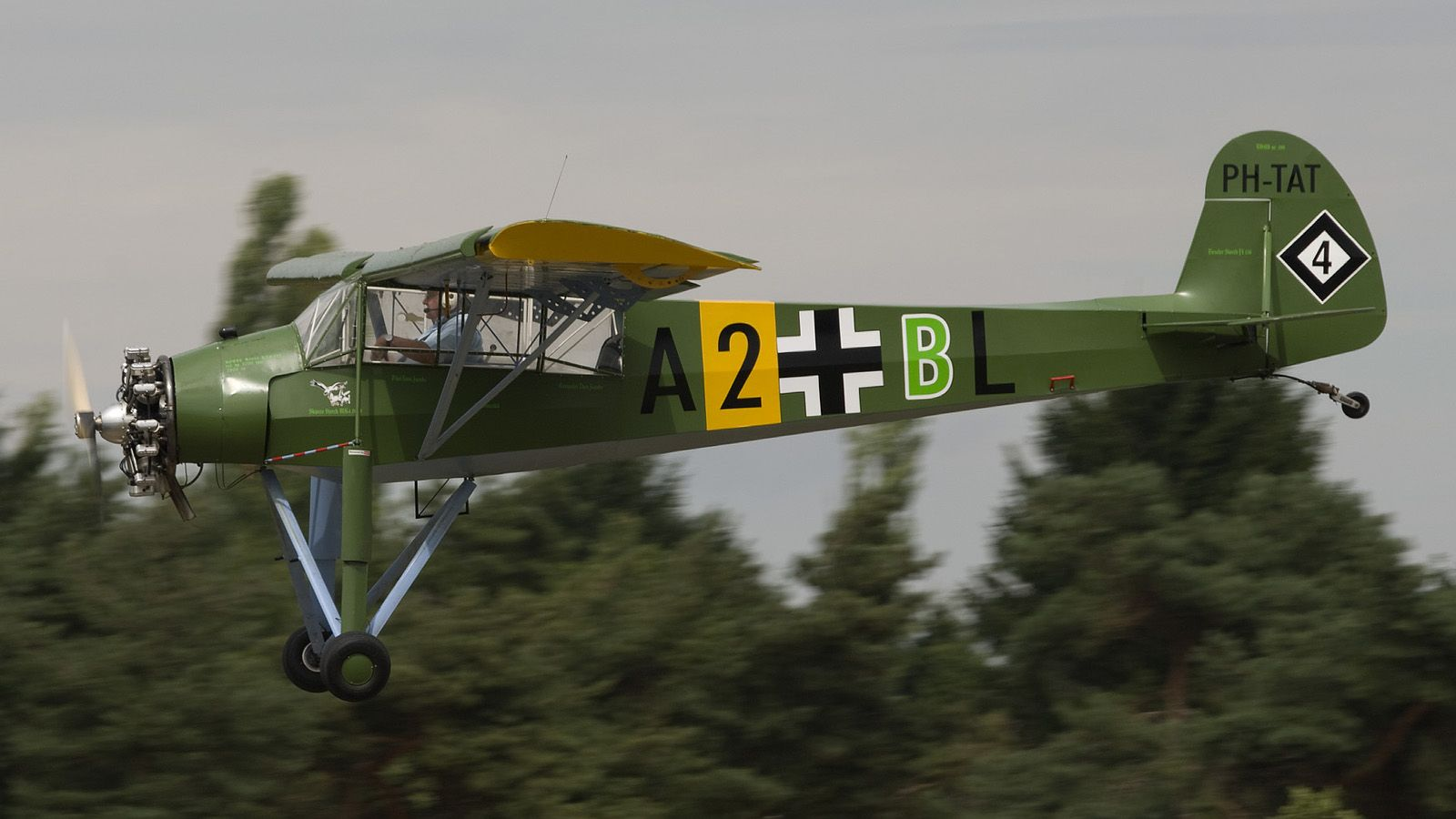 Not strictly a warbird to purists This Slepcev Storch Mk4 is