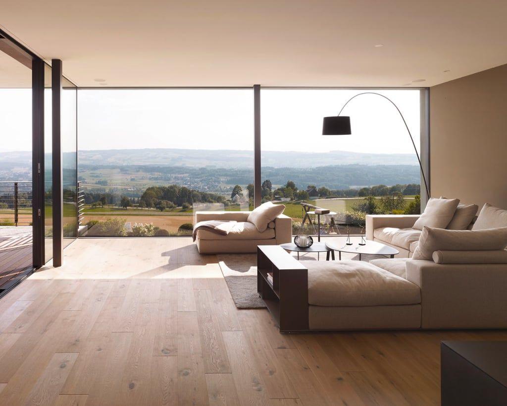 Objekt 3 / meier architekten moderne wohnzimmer von meier