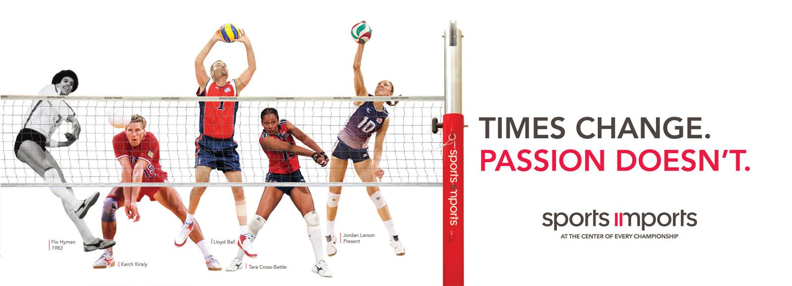 Our Passion For Volleyball Is The Same As It Was When We Opened In The 70 S Learn More About Our History By Visitin Ball Exercises Volleyball Baseball Players