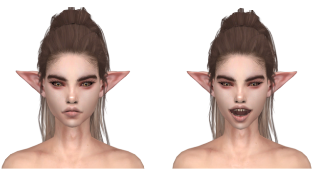 The Sims 4 Forest Elf Sims Sims 4 Sims 4 Cc Makeup