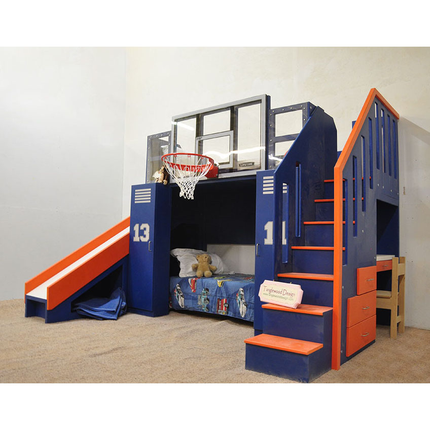 Basketball Bunk The Ultimate in 2020 Kids bunk beds