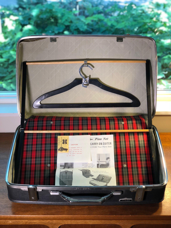 Vintage Suitcase with KEY! American Tourister Gray Tiara