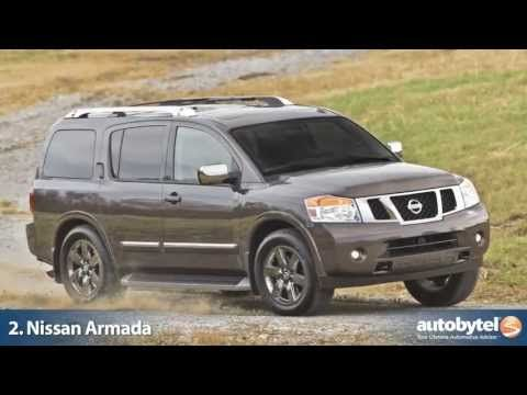 10 Of The Best Seven Seater Suvs Autobytel S 7 Passenger Suv List Youtube Nissan Armada Nissan Suv