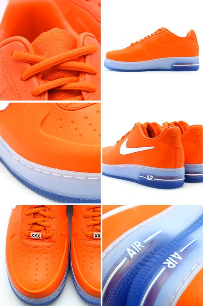 22cbf038023f65 Nike Air Force 1 Low Foamposite - Orange - White - SneakerNews.com ...