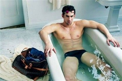 Michael Phelps and Vuitton