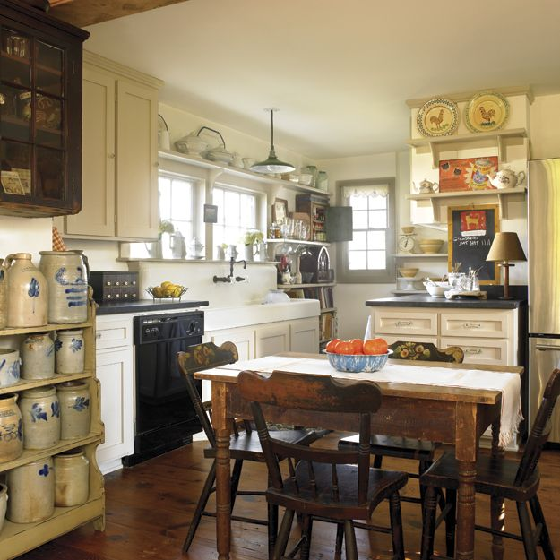 English Cottage Kitchen Designs: English Cottage Style Kitchen