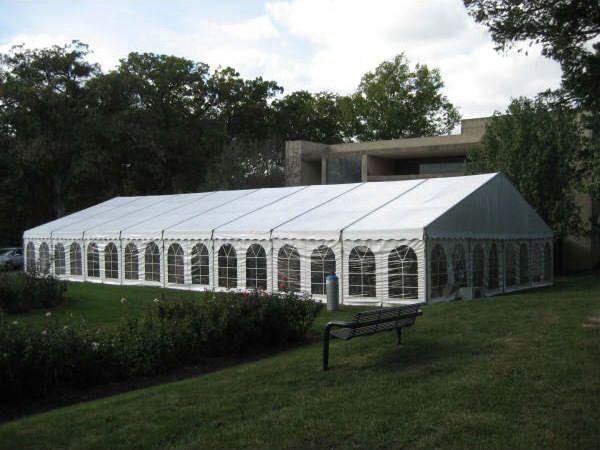 40u0027 x 80u0027 Losberger clearspan wedding reception tent. & 40u0027 x 80u0027 Losberger clearspan wedding reception tent. | Event ...