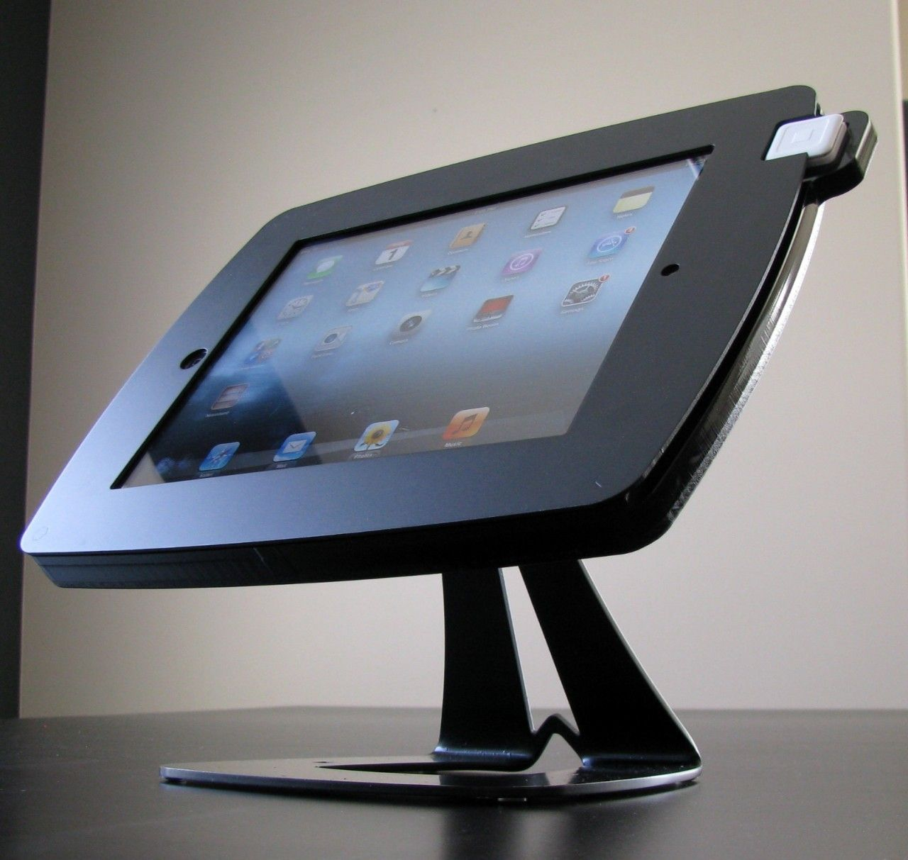 Revo swipe ipad enclosure black swipe card ipad