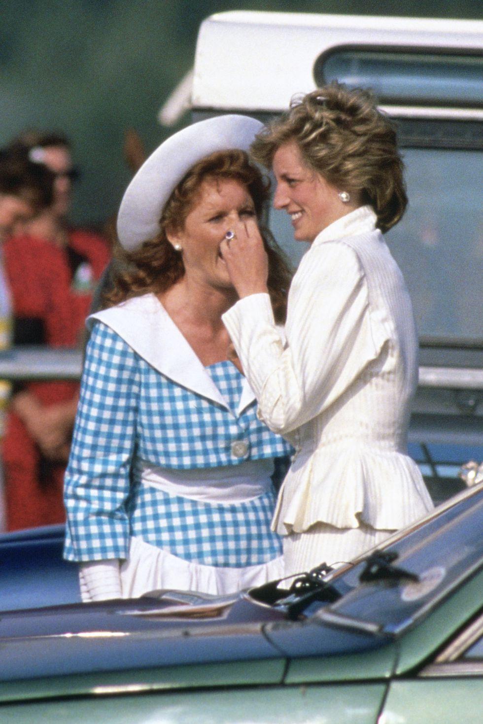 10 Rare Photos of Sarah Ferguson and Princess Diana Royal