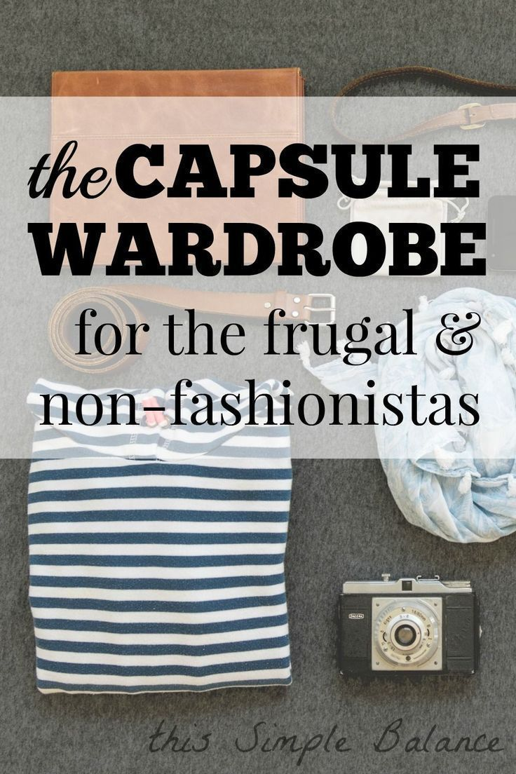 I wasn't sure how to build a capsule wardrobe inexpensively. I love the
