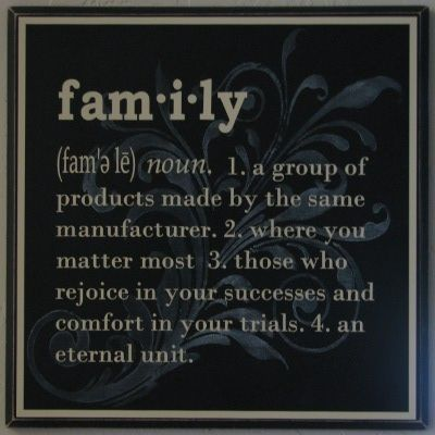 Meaning of Family | family definition1 Family Definition Home ...