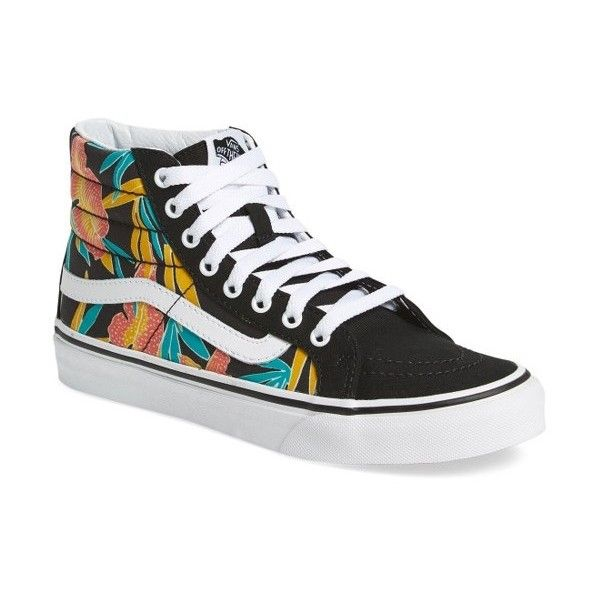 d0bea533d4 Women s Vans Sk8-Hi Slim High Top Sneaker ( 65) ❤ liked on Polyvore  featuring shoes