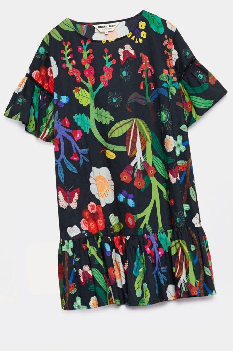 d216ab6fdf Monika Forsberg x Gorman Garden Ruffle dress | terzicilik in 2019 ...