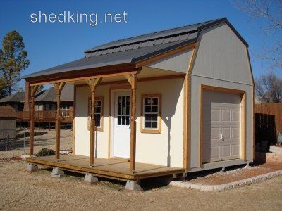 12x16 Barn With Porch Plans Barn Shed Plans Small Barn Plans