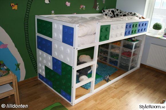 Letto A Castello Ikea Kura.Mommo Design Kura Bed Makeover Lego Kura Ikea Camera
