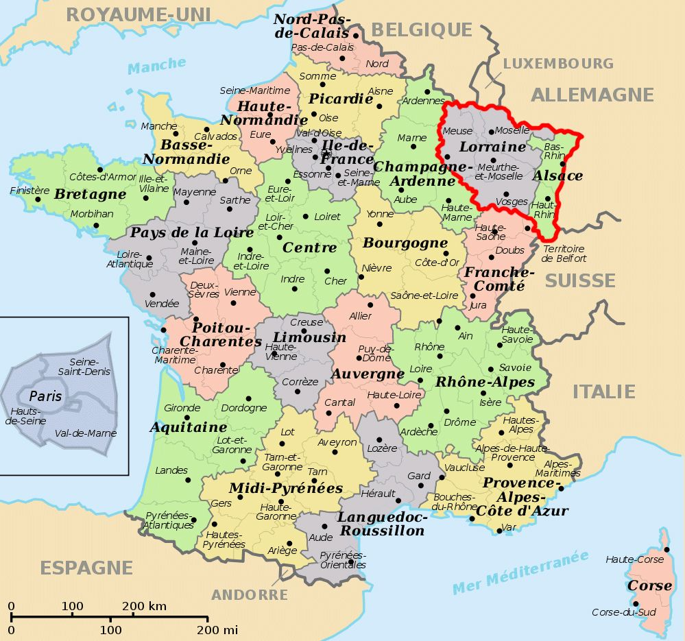 It Was As A Result Of The Franco Prussian War That On May 10 1871 France Was First Forced To Surrender Alsace And Part Of In 2019 France Map France Trave