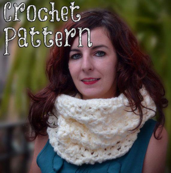 CROCHET PATTERN / Crochet Cowl / Starfish Stitch / Tutorial ...