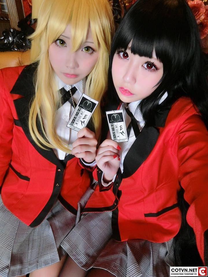 M m n v i cosplay jabami yumeko trong th gi i b i b c kakegurui cotvn net anime pinterest - Anime selber machen ...