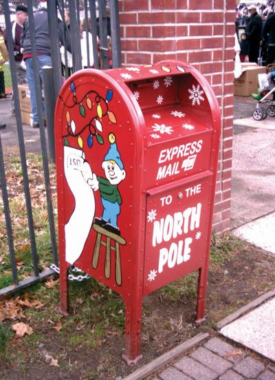 letters to santa mailbox santa mail box most wonderful time of the year 23421