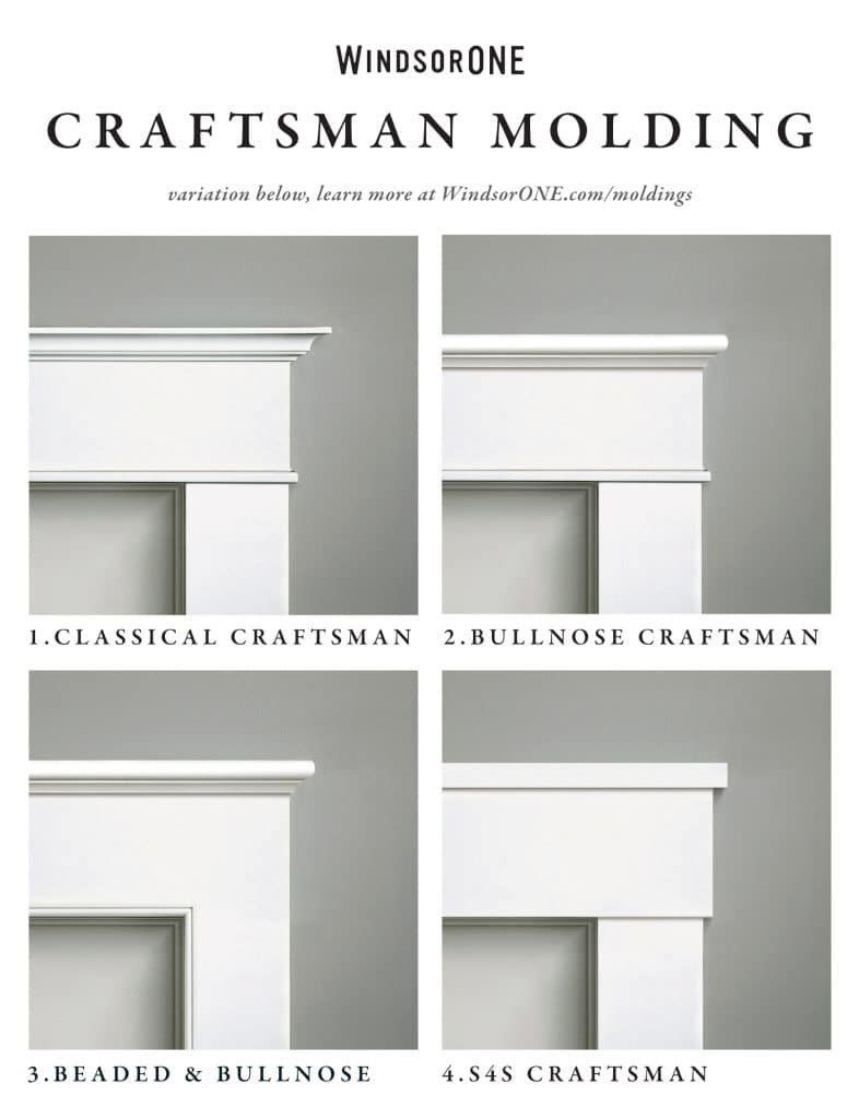 Streamline builders finishes up for a white christmas for Craftsman exterior trim details