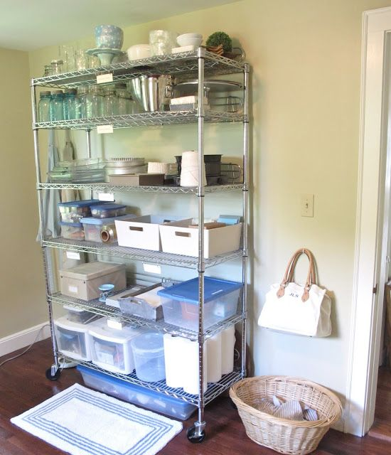 19 Budget Friendly Kitchen Makeover Ideas: Jenny Steffens Hobick: Work Room Office Utility Laundry