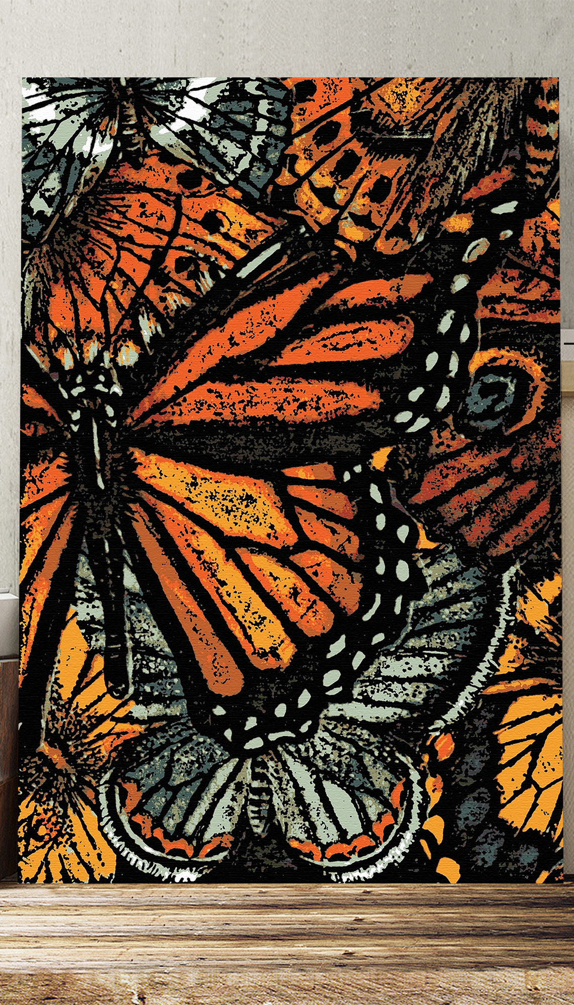 Butterfly Photographic Print On Canvas Butterfly Artwork Canvas Prints Big Box Art