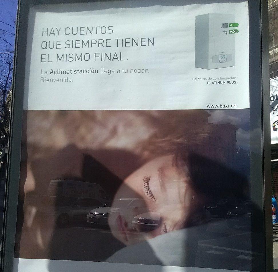 Este anuncio no comunica. No resulta efectivo ni aún utilizando la imagen de un niño. Esfuerzo fallido del publicista.