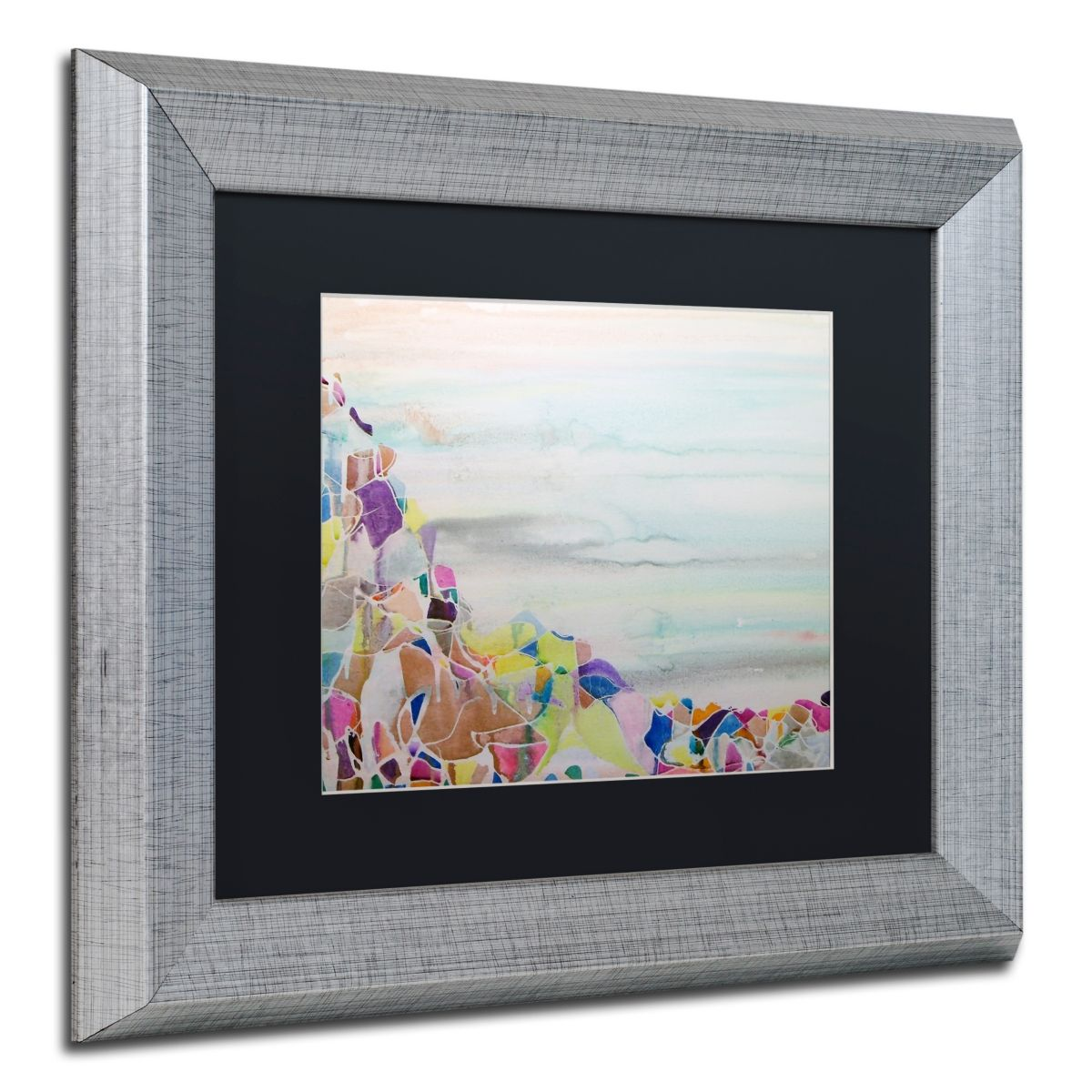 Lauren Moss Ichinsky Matted Framed Art 11 X 14 Silver Framed Art Trademark Art Painting Frames