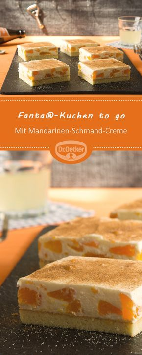 Fanta®-Kuchen to go #peanutrecipes