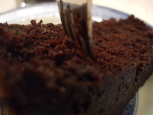 """When I was a bride one of the first recipes my mother-in-law gave me was """"Wacky Cake"""". This was a recipe developed during the depression and and used minimal ingredients."""