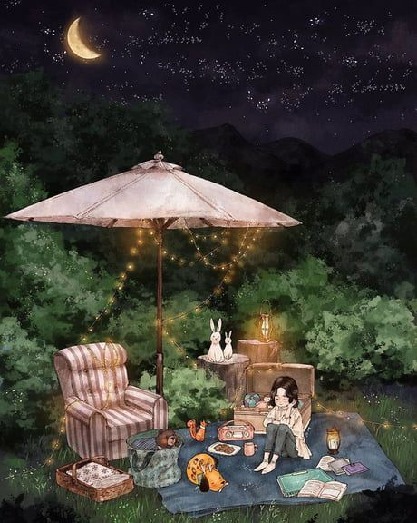 Korean Artist Illustrated The Happiness Of Living Alone With A Dog