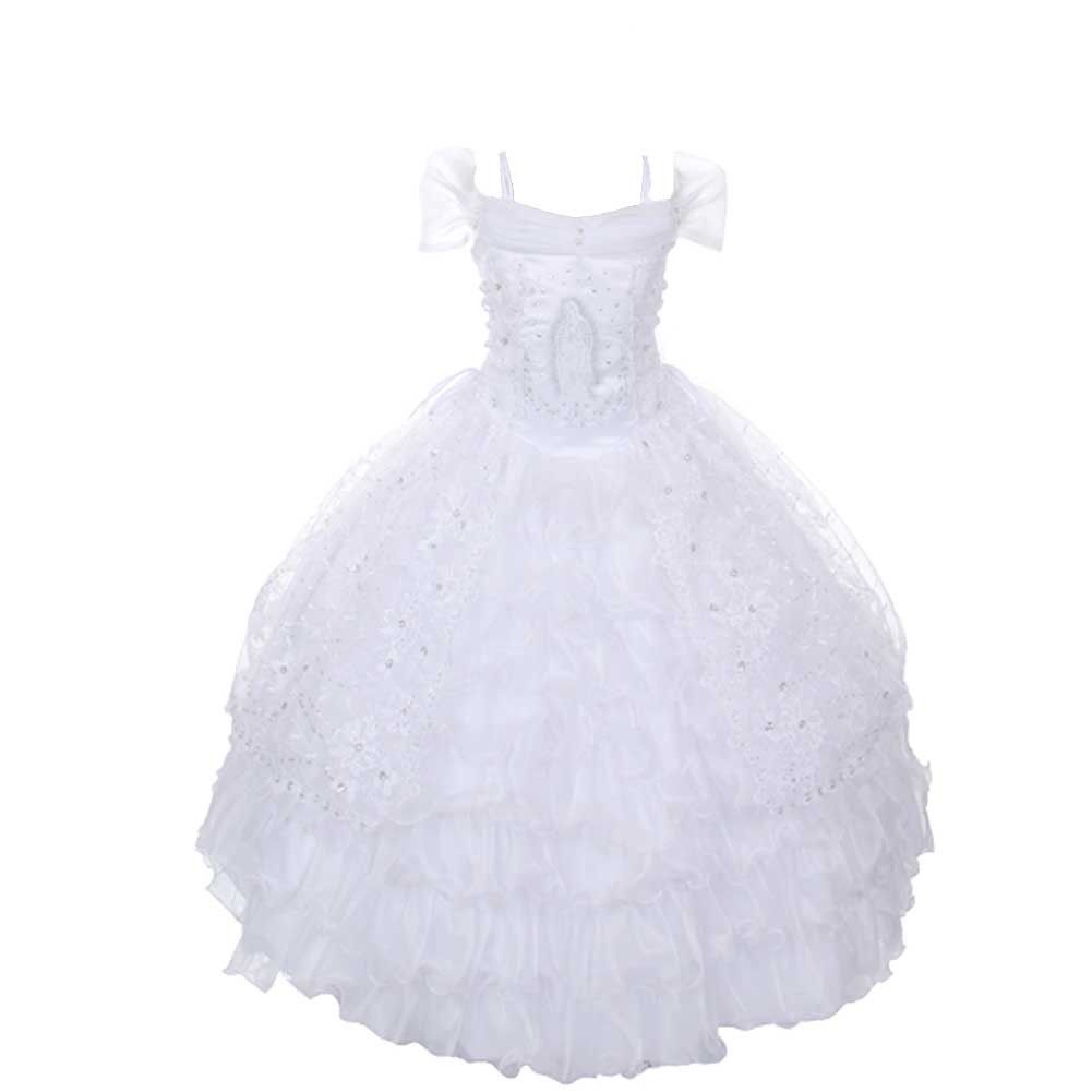 Rain Kids brings this exquisite First Communion dress for your ...