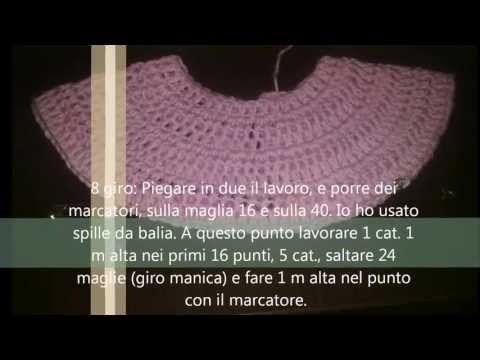 Crochet Uncinetto Vestitino Abitino Bimba Neonata Youtube Abiti