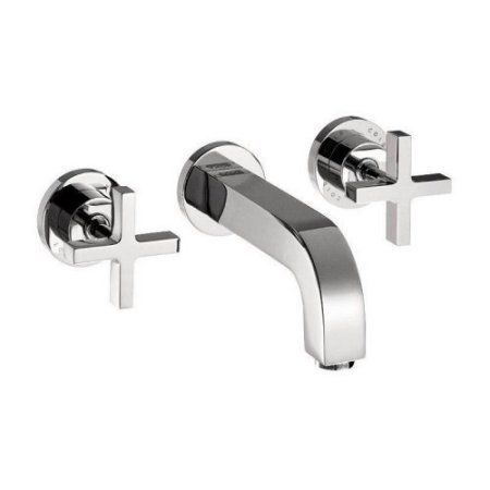 Wall Mount Faucet without Escutcheons