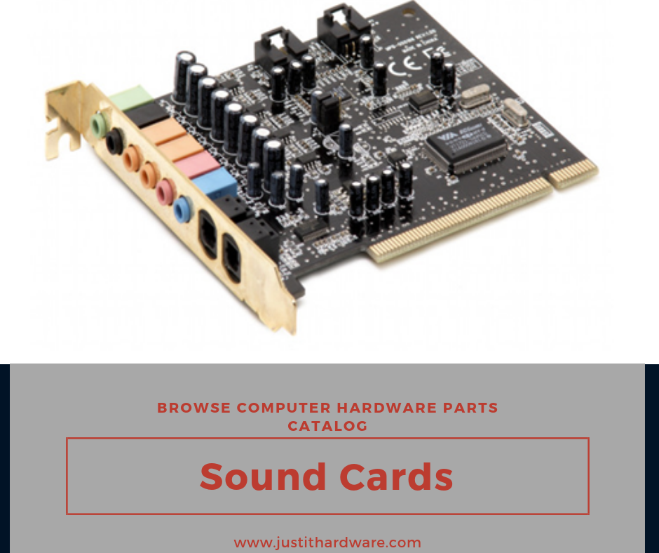 A sound card is an internal expansion card that provides