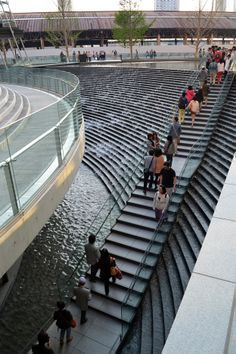 Grand Front Osaka Design Water Water Architecture