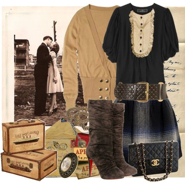 Forever, Vintage..., created by call-me-dasha on Polyvore