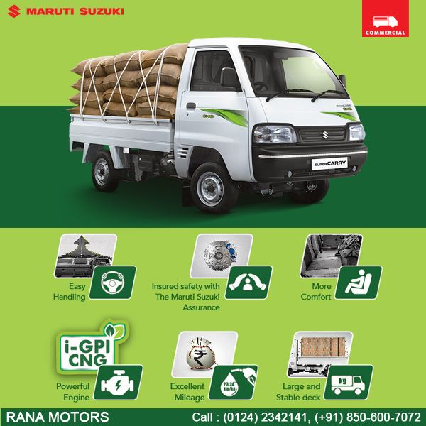 Maruti Suzuki Super Carry This New Variant Will Give You Unmatched
