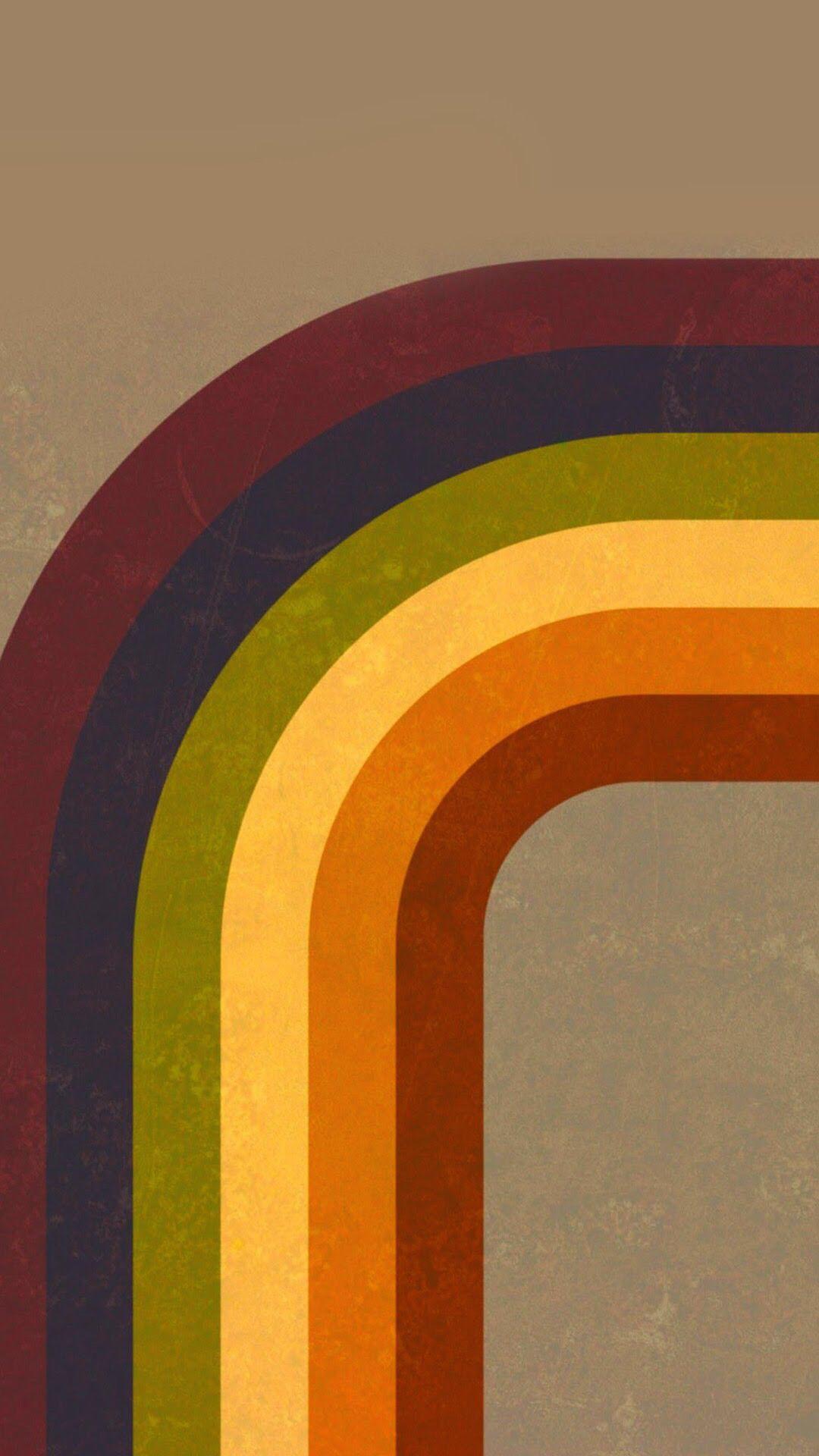 Rainbow Pattern Retro Wallpaper Retro Background Retro