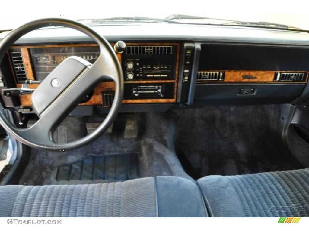 1968 buick electra 225 2 door hardtop front 3 4 81136 - 1993 Buick Century Blue Interior