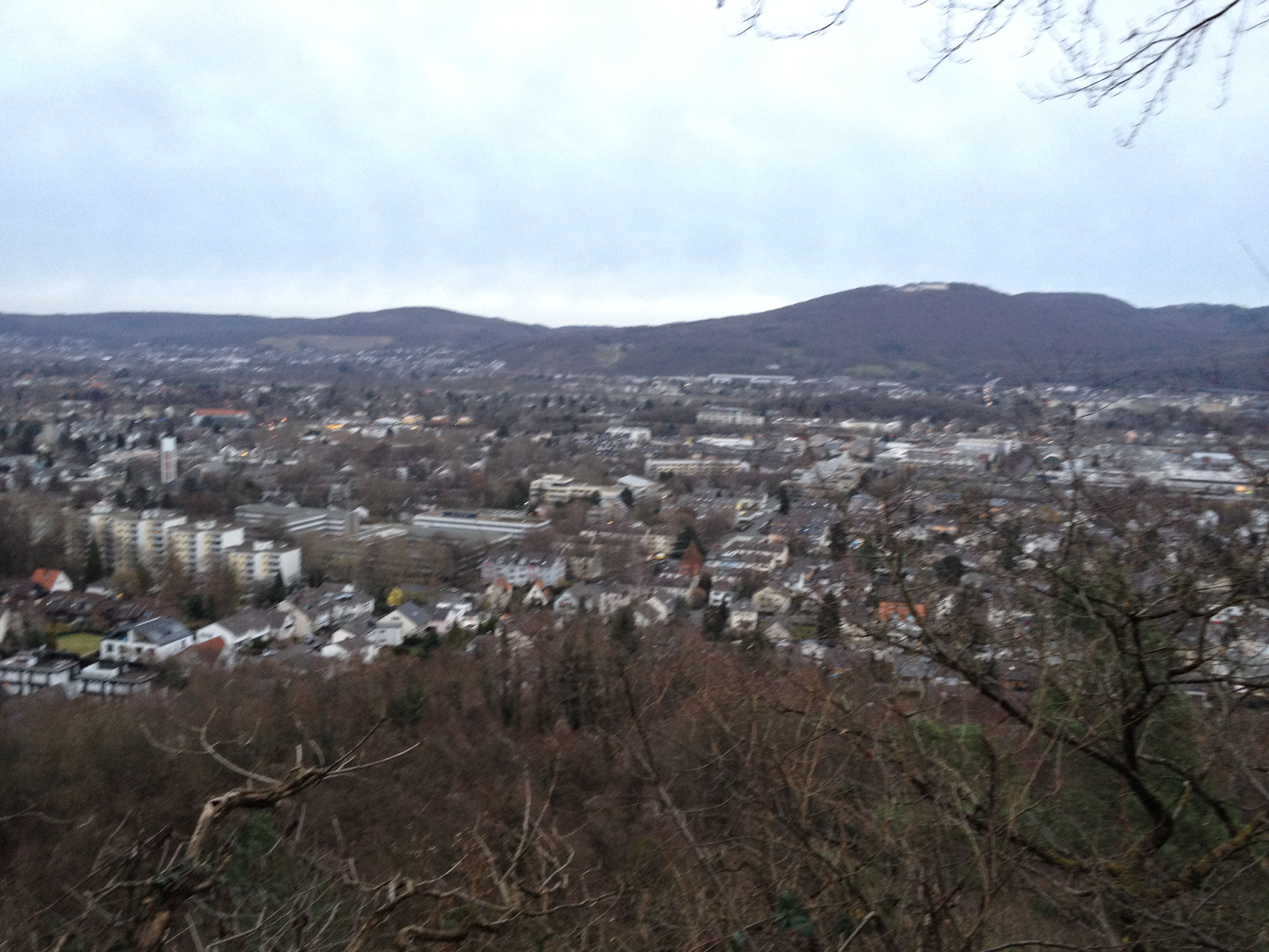 View Of Bad Godesberg Bonn Germany From The Heiderhof In February Dolores Park Germany Views