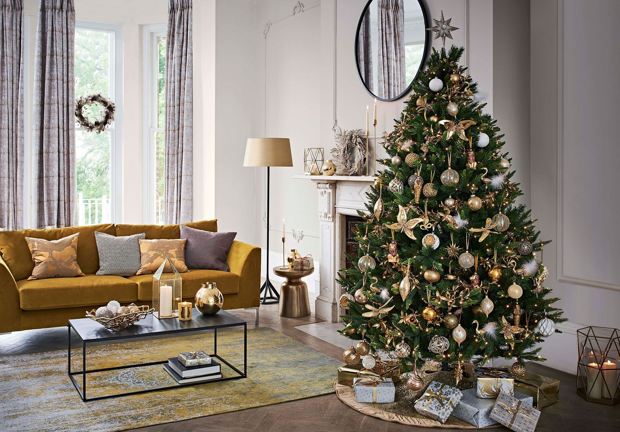 John Lewis Christmas Decorations.John Lewis Reveal Their 8 Christmas Decorating Themes For