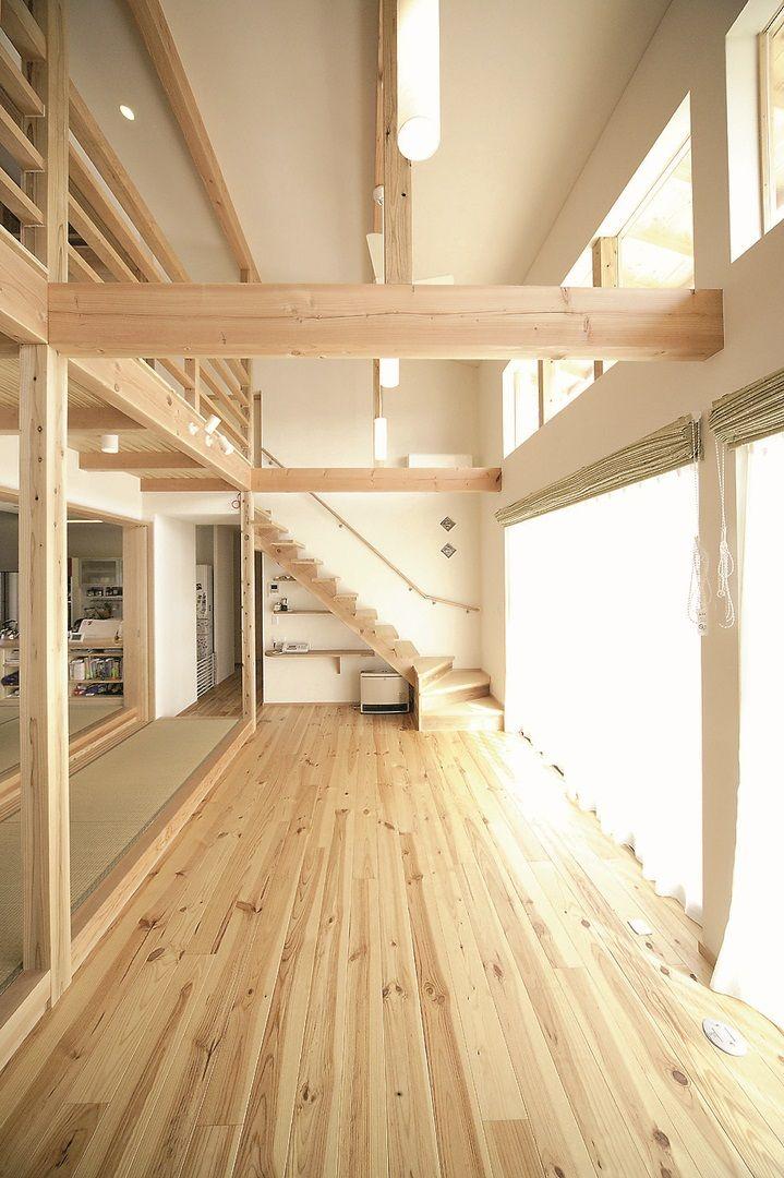 Parquet en pin maritime Le bois à la maison Pinterest Construction - terrasse en bois suspendue prix