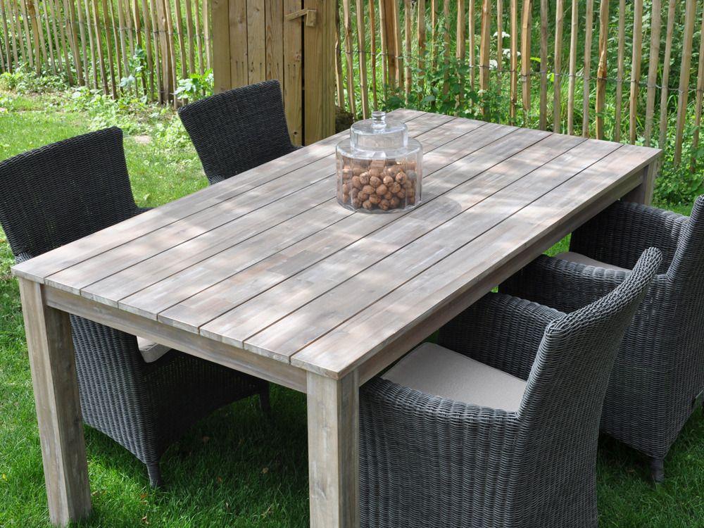 étourdissant table salon de jardin bois | Décoration française ...