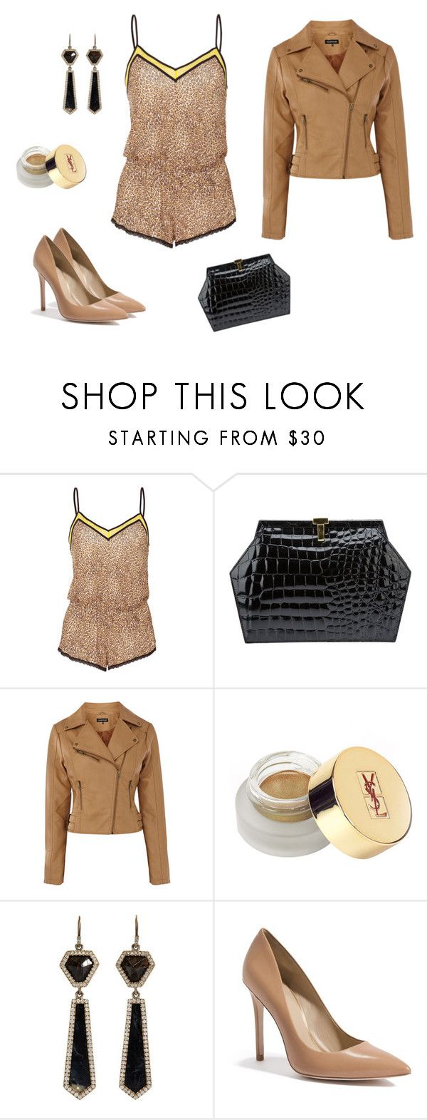 """""""15"""" by kitty-the-cat ❤ liked on Polyvore featuring Juicy Couture, Tiffany & Co., Warehouse, Yves Saint Laurent, Monique Péan, GUESS by Marciano, women's clothing, women, female and woman"""