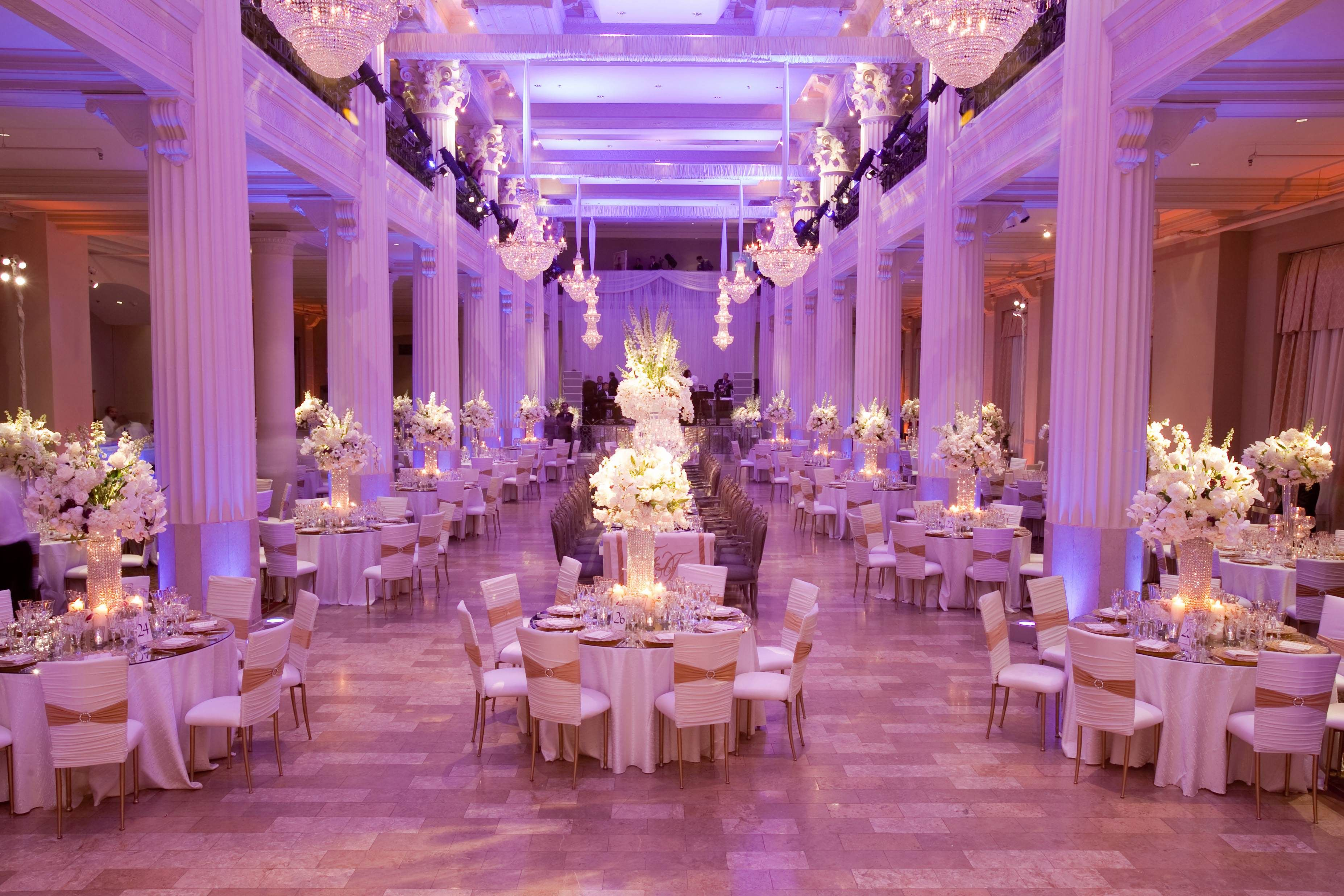 From Gobo Lighting To Pin Spotting The Ambience Of These Weddings Was Set With Exceptional